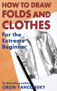 How to draw folds and clothes