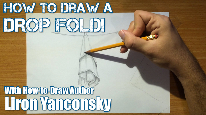 How to Draw a Drop Fold: One Way