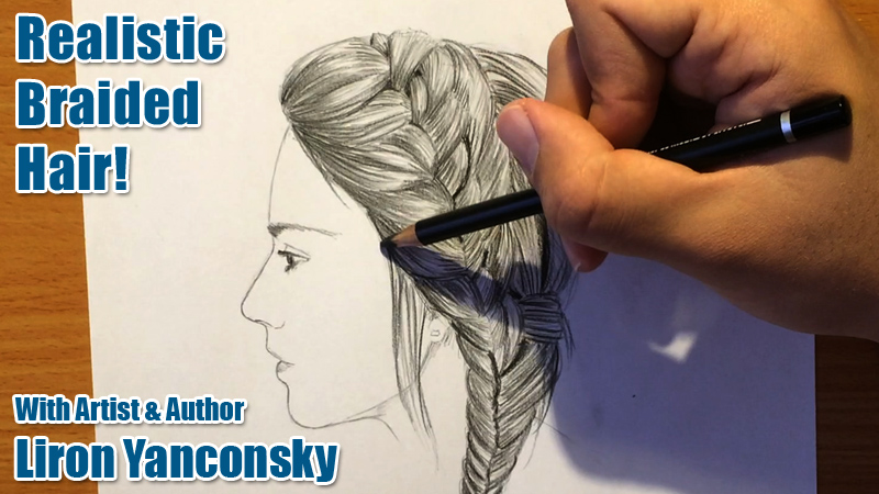 How to Draw Realistic Braids!