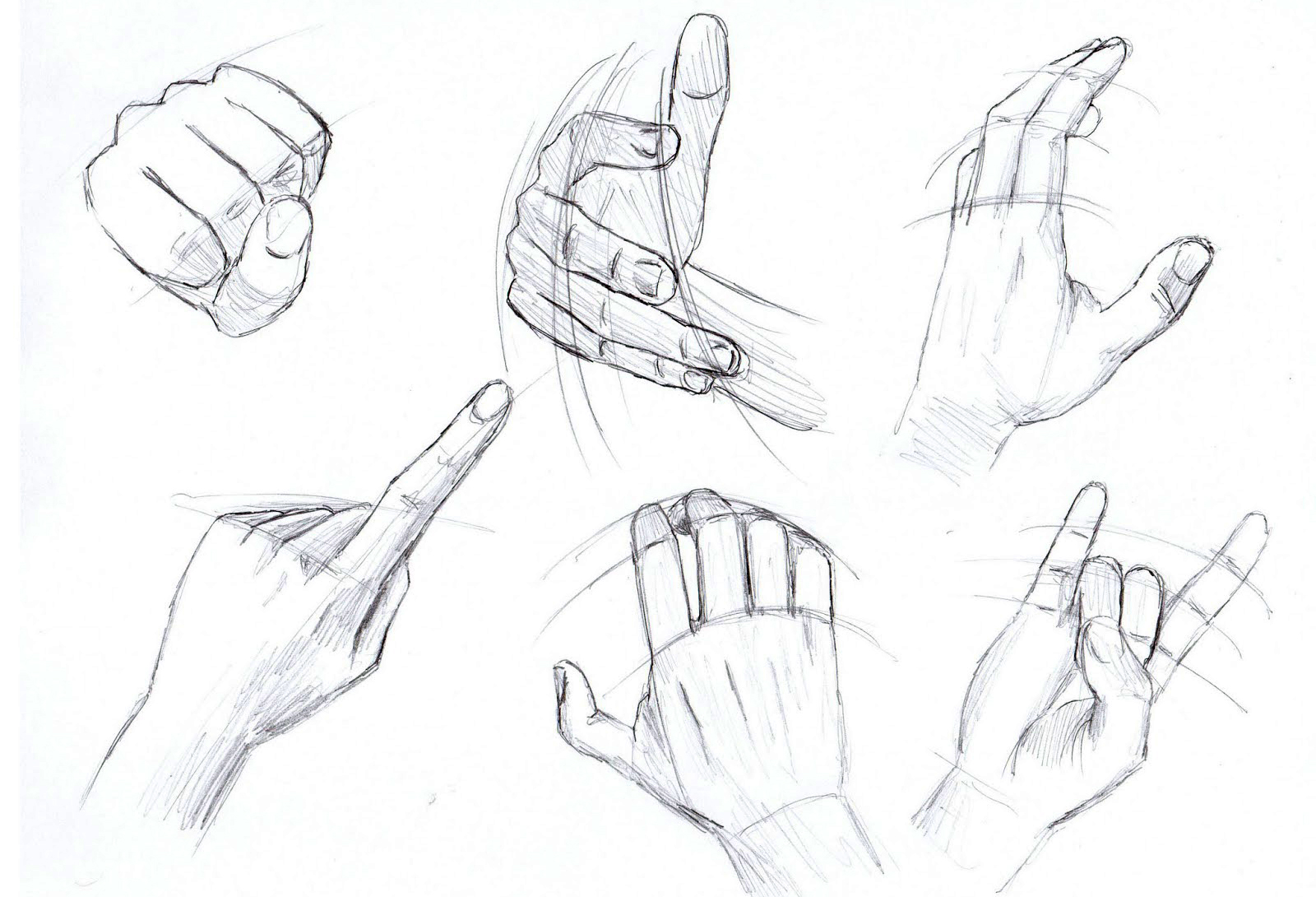 how to draw hands poses quick reference liron yanconsky