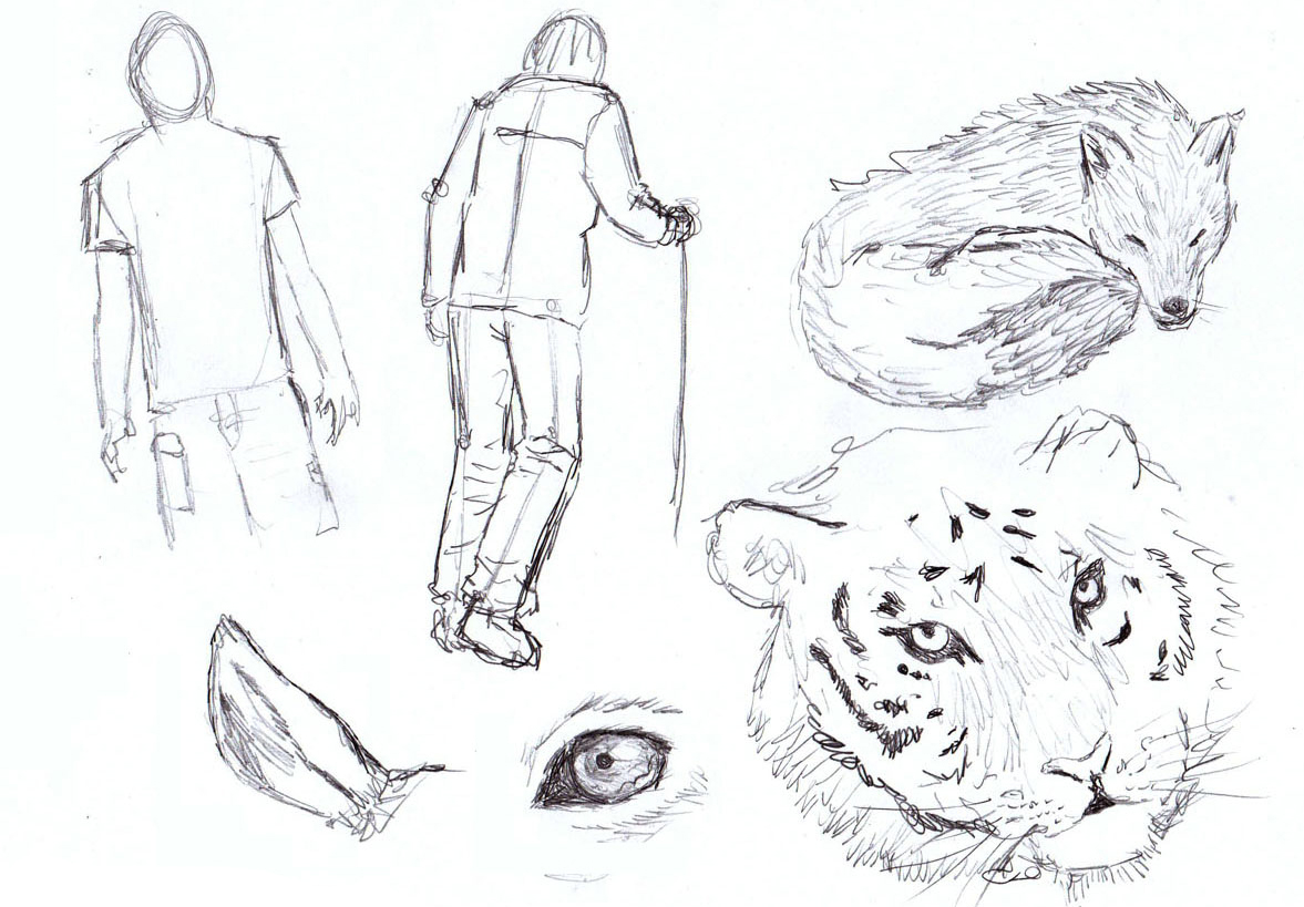 How to Sketch - Sketching techniques (Elaborated) - Liron Yanconsky