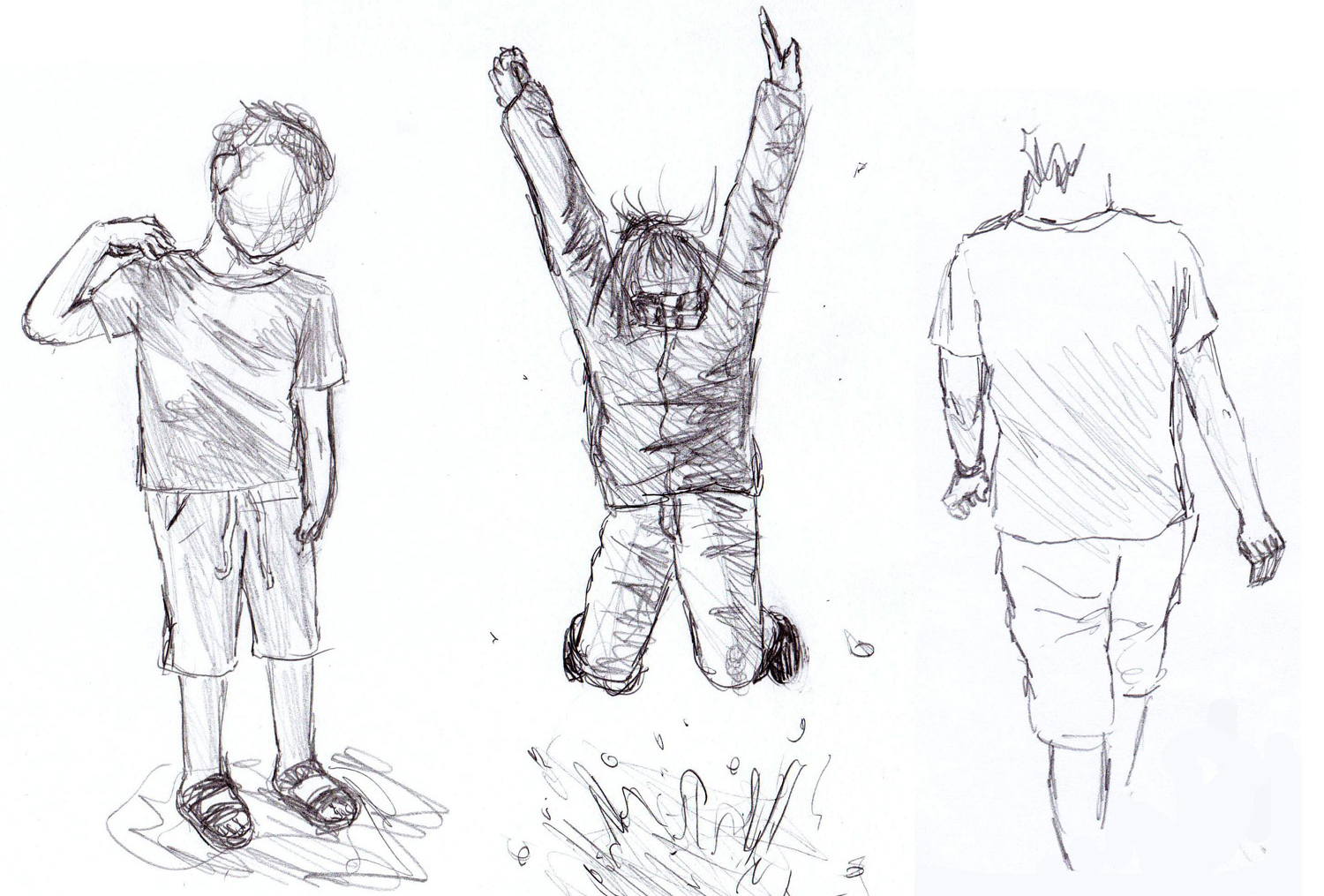 sketch sketching sketches techniques jumping elaborated guidelines lironyan 1500 handed tuned fine light these