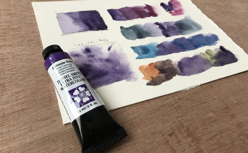 Carbazole Violet – Daniel Smith Watercolor | The Paint Show 21