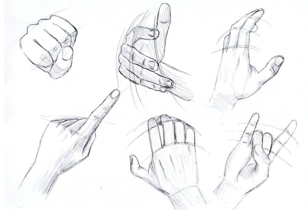 It is a photo of Juicy Hand Drawing Poses
