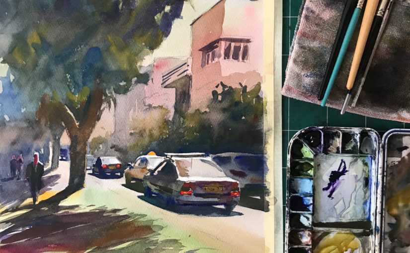 3 Hacks to MASTER Watercolor Painting | Long Term Strategy - Liron's  Podcast Episode 92